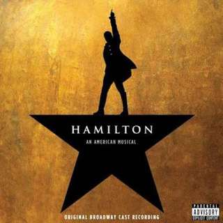 Hamilton Original Broadway Soundtrack