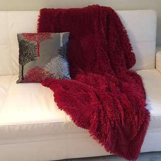Throw & Cushion Set