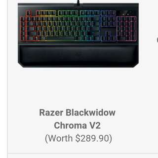 BNIB Razer BlackwidowChroma and Razer MambaTournament Edition