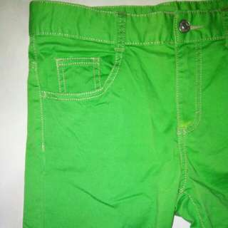 United Colors Of Benetton Green Skinny Stretchy Pants