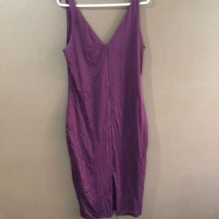 Kookai Bodycon Fitted Midi Dress