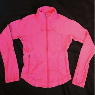 Pink Lululemon Define Jacket XS