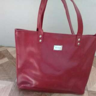 Red Avon Bag