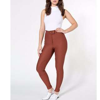 American Apparel Riding Pants - Small