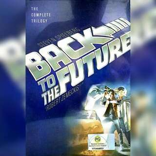 Back to the Future complete 3 in 1 DVD set