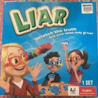 Liar!/Fibber Board Game