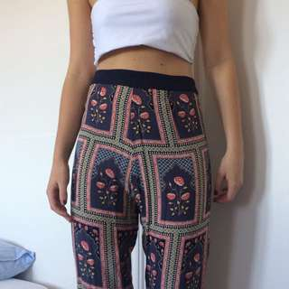 Tigerlily High Waisted Floral Pants