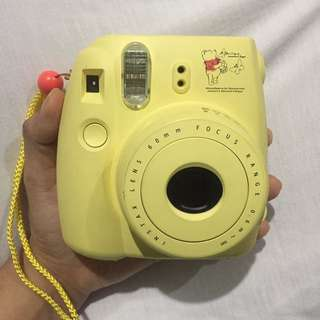 FujiFilm Instax Mini 8 Pooh (Yellow)
