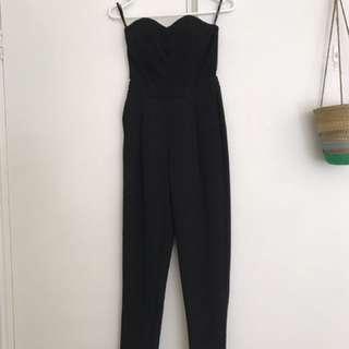 PRICE DROP! Bardot Black Jumpsuit Size 6