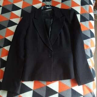 Funky Jacqui-E Black Suit Jacket, Size 12