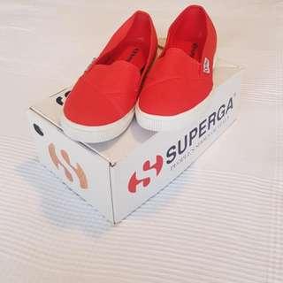 Superga Poppy Red Size 38