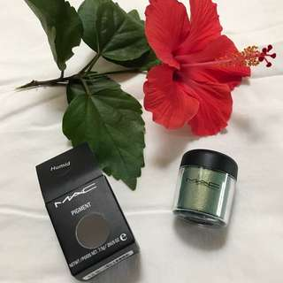 Mac Pigment In Humid Color