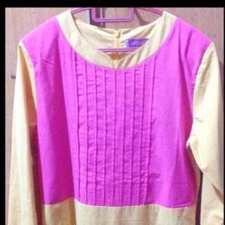 Pink + Yello Maxi Dress