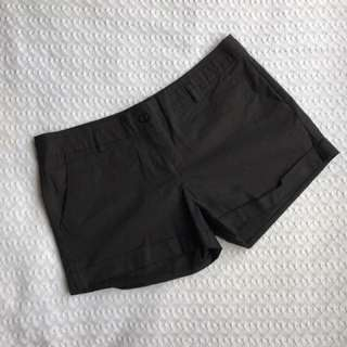 Dotti Plain Black Shorts