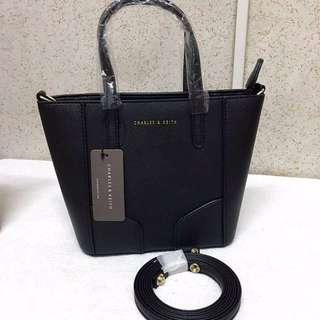 Charles and Keith Tote bags