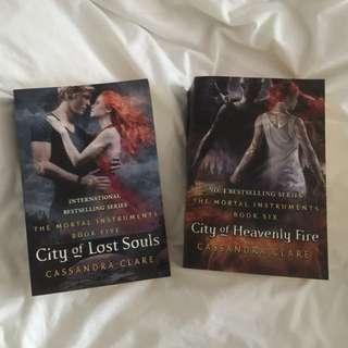 Book 5 & 6 Mortal Instruments Series