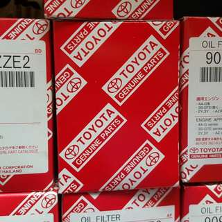 Toyota OEM Oil Filters