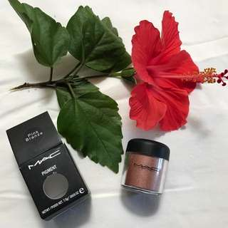 Mac Pigment In Pink Branze Color