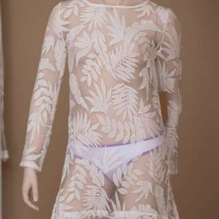 New Palm Lace Cover Up