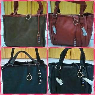 Zoe's Reversible Bags