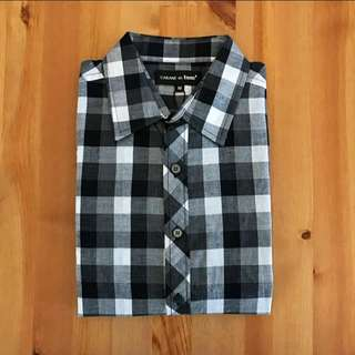 🚚 Check Shirt 黑格紋襯衫