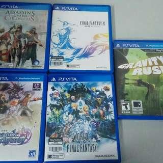 Vita Games For Sale