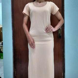 Creme Maxi Dress