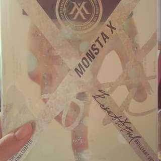 MONSTA X 白版空專+誓言卡(民赫)