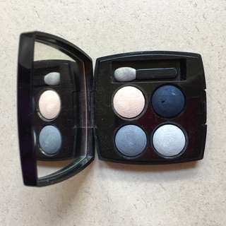 CHANEL Les 4 Ombres Quadra Eye Shadow 92 Bleu Celestes Near New