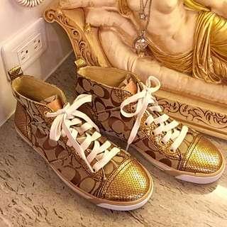 Coach時尚❤️休閒鞋。