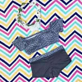 Two Piece Bikini 2 Pc Swimsuit Swimwear