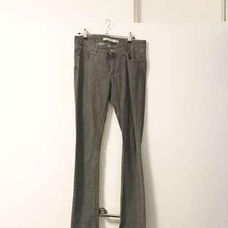 Superfine Grey Jean