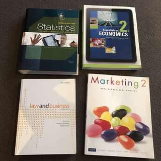 Commerce/Business Textbooks