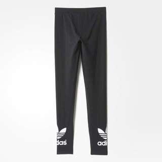 [保證正品] Adidas leggings 女生運動長褲 L號 九成新