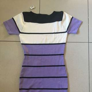 Brand New Stripped Dress