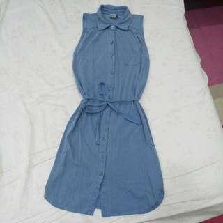 Asos無袖襯衫洋裝