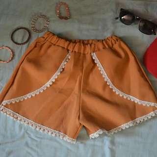Angela Boho Shorts