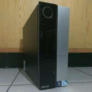 【客廳-影音-小主機/ASUS CP5140】Q8200雙核心迷你電腦主機/4GD2/320G/SD讀卡機/DVD-RW/正版W7H
