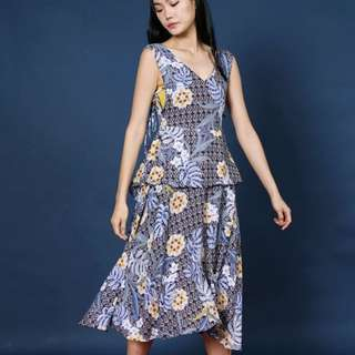 Soeurs Midi Floral Dress
