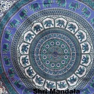 Mandala Throw Tapestry