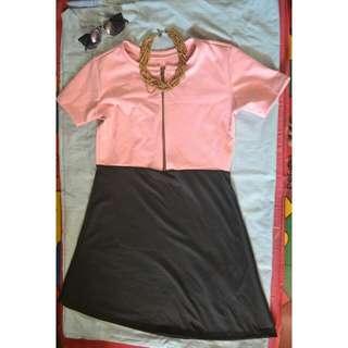 Shyla 2 Color Dress