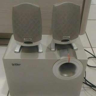 Edifier M1310 2.1聲道 重低音 喇叭