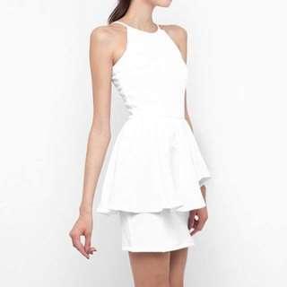 Peplum Dress by Cloth Inc