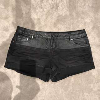 Sportsgirl Black Denim Shorts