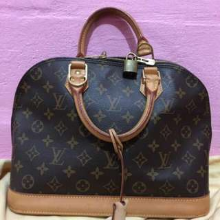 Lv Alma Bag Authentic Fast Deal At $500 Today Offer
