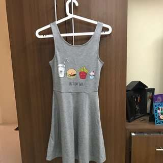 H&M gray dress - repriced!