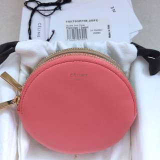 Celine Double Coin Purse