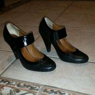 Tony Bianco Mary Jane Black Heels