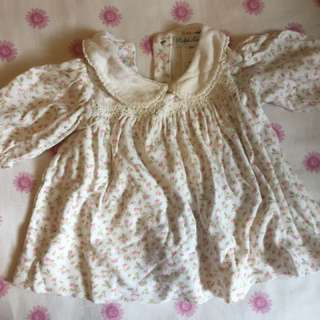 RL Baby Girl's Floral Top
