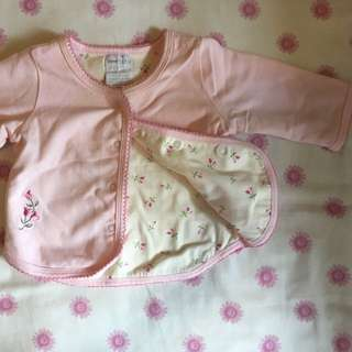 New Born Soft Jersey Cardigan